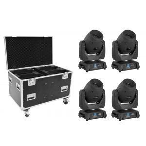 EUROLITE Set 4x LED TMH-X12 + EU Case