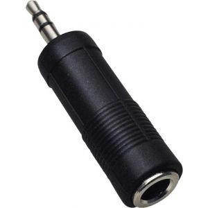 Adaptor Sal Jack stereo 3,5 mm tată – Jack stereo 6,3 mm mamă