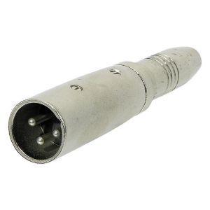 Adaptor XLR 3 poli la Jack 6.3mm Stereo Alpha Audio