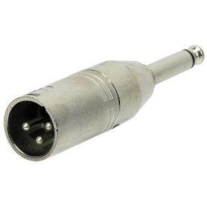 Adaptor XLR Tata 3 poli la Jack 6.3mm Mono Alpha Audio