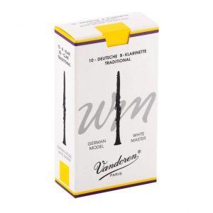 Ancie clarinet Vandoren Bb Allemand White Master Traditional 3.0 CR163T