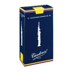 Ancie saxofon Sopran Vandoren Traditional 2.5 SR2025