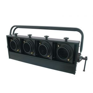 Audience Blinder 4xPAR-36 horizontal negru