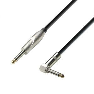 Cablu Adam Hall K3 IPR 0600 jack 6.3 mono la jack 6.3 mono 90° 6m