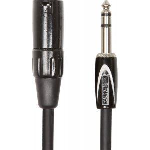 Cablu Audio Jack 6.3mm Stereo la XLR T Roland BS 4.5m