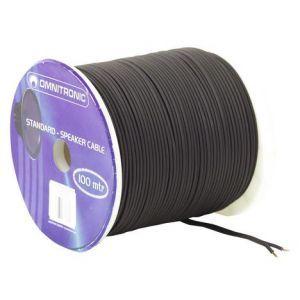 Cablu Boxa Omnitronic 2x1.5bk 100m