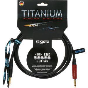 Cablu De Chitara Klotz Titanium TI-0600PSP 6m