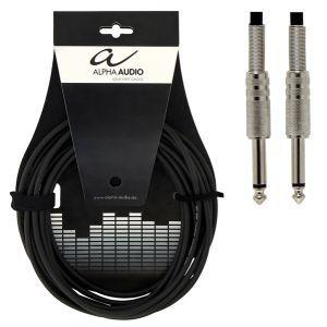 Cablu instrument Alpha Audio Mono Jack 6.3 - Jack 6.3 6M