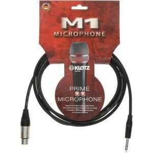Cablu Microfon Klotz M1 XLR Mama -Jack Stereo 6.3 5m