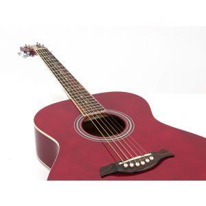 Chitara acustica DIMAVERY AW-303 Red