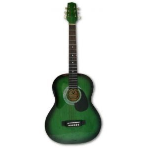 Chitara acustica Hora Standard M 4/4 Verde