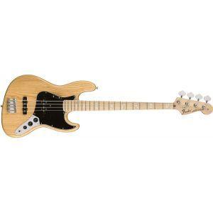 Chitara Bas Fender American Original 70s Jazz Bass Natural