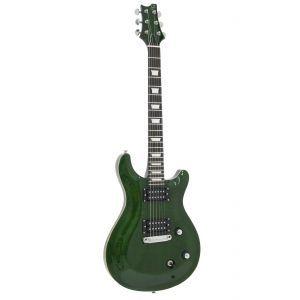 Chitara Electrica Dimavery DP 600 Flamed Green