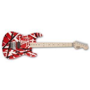 Chitara electrica EVH Stripe Red with Black Stripes