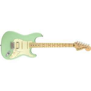 Chitara electrica Stratocaster Fender AMERICAN PERFORMER HSS Satin Surf Green