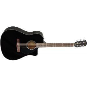 Chitara electroacustica Fender CC 60 SCE BK