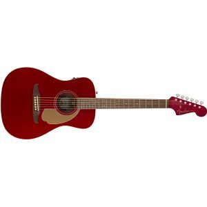 Chitara Electroacustica Fender Malibu Player Candy Apple Red