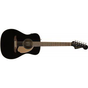 Chitara Electroacustica Fender Malibu Player Jetty Black