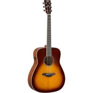 Chitara Electroacustica Yamaha FG TA Brown Sunburst