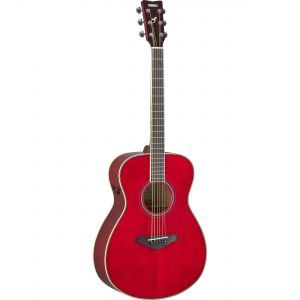 Chitare electroacustice Yamaha FS TA Ruby Red