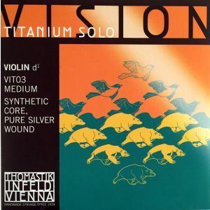Coarda vioara Thomastik Vision Titanium Solo Violin D VIT03