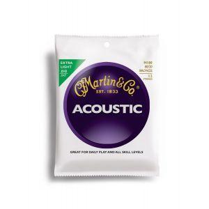Corzi chitara acustica 12 corzi Martin & Co M 180