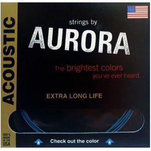 Corzi chitara acustica Aurora Acoustic 10s Blue