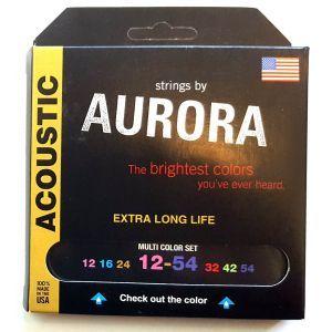 Corzi chitara acustica Aurora Acoustic 12s MultiColored