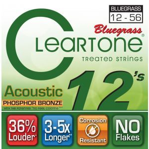 Corzi Chitara Acustica Cleartone BLUEGRASS MEDIUM 12-56