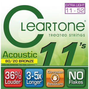 Corzi Chitara Acustica Cleartone BRONZE CUSTOM LIGHT 11-52