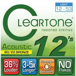 Corzi Chitara Acustica Cleartone BRONZE LIGHT 12-53