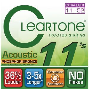 Corzi Chitara Acustica Cleartone CUSTOM LIGHT 11-52