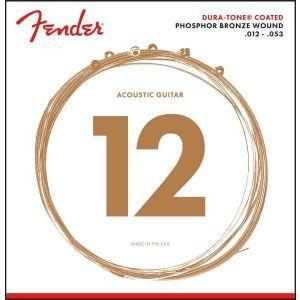 Corzi chitara acustica Fender 860L Phosphor Bronze Coated 12-53