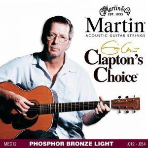 Corzi chitara acustica Martin and Co Eric Clapton MEC 12