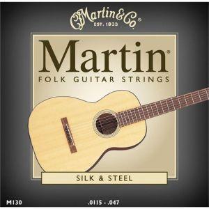 Corzi chitara acustica Martin and Co M 130