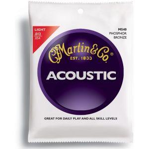 Corzi chitara acustica Martin and Co M 540