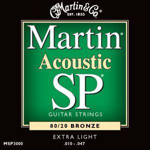 Corzi chitara acustica Martin and Co MSP 3000