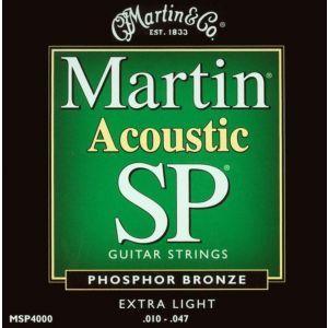Corzi chitara acustica Martin and Co MSP 4000 10 47