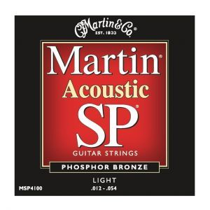 Corzi chitara acustica Martin and Co MSP 4100