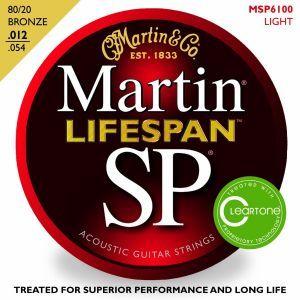 Corzi chitara acustica Martin and Co SP Lifespan MSP 6100