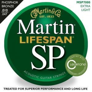 Corzi chitara acustica Martin & Co SP Lifespan MSP 7000
