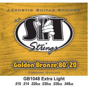 Corzi chitara acustica SIT GB1048 Extra Light 10 - 48