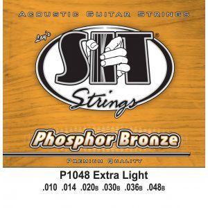 Corzi chitara acustica SIT P1048 Extra Light 10 - 48