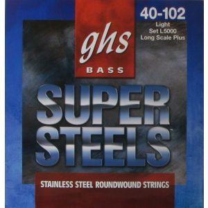 Corzi chitara bas GHS Super Steels L5000