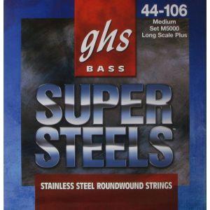 Corzi chitara bas GHS Super Steels M5000