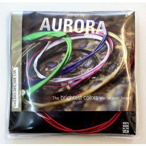 Corzi chitara bass Aurora Custom Bass 45-135 Red