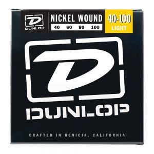 Corzi Chitara Bass Dunlop Nickel Wound Light 40-100