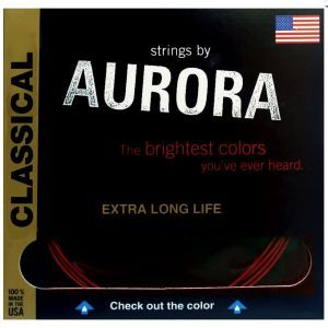 Corzi chitara clasica Aurora Classic NT Red