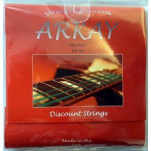 Corzi chitara electrica Aurora Arkay Electric 10-46 Red