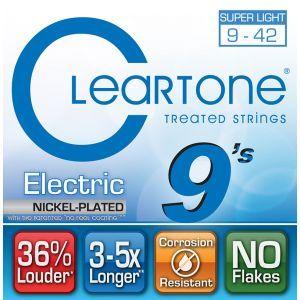 Corzi chitara electrica Cleartone SUPER LIGHT 9-42